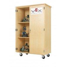 VEX ROBOTICS, MOBILE STORAGE CABINET, MAPLE