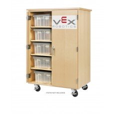 VEX ROBOTICS, TOTE CABINET,MAPLE