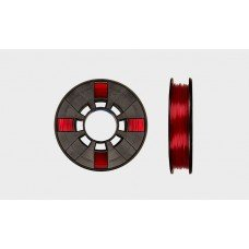 MakerBot® Translucent PLA Filament (.2 kg) [.5 lbs.] - Translucent Red PLA Small Spool / 1.75mm / 1.8mm Filament