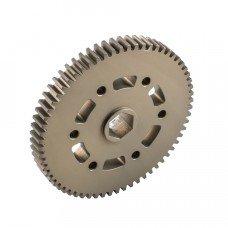 """72t Gear with 1/2"""" Hex Bore & VersaKeys (217-2716)"""