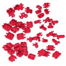 Corner Connector Foundation Add-on Pack (Red) (228-3753)