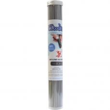 3Doodler Single Color ABS Tube Skyline Silver 3D printer pen filament