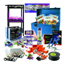 Intermediate Level, Deluxe Stem Steam Kit - Kit contains the following, 1 EDIBOT-10, 5 INVBOT, 3 MRT3, 3 MPEN, 6 MPFB, 1 MPFBLK, 1 CQTUBE, 1 GLITE… Packed in our plastic HMC carry case.