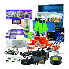 Advanced Level, Deluxe Stem Steam Kit - Kit contains the following, 1 EDIBOT-10, 5 INVBOT, 1 CQTUBE, 3 MPEN, 6 MPFB, 1 MPFBLK, 1 GRN-KIT, 1 ANI-KIT, 2 SVRG1... Packed in our plastic HMC carry case