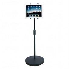 """Universal Mount Floor stand for iPads and tablets 7 to 10"""". Adjustable from 37.6 to 56.5"""