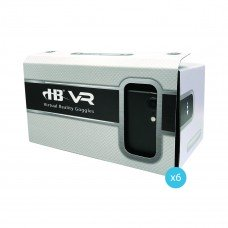 Pack of 6 - 3D Virtual Reality Glasses for smart phones, cardboard construction
