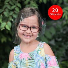 The Canadian Shield Reusable PPE Kids Face Shield (20-Pack)