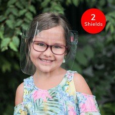 The Canadian Shield Reusable PPE Kids Face Shield (2-Pack)