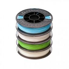 PLA Premium 1.75 Filament,500g,4-Pack,Blu,Gry,Grn,Ntrl (25617)