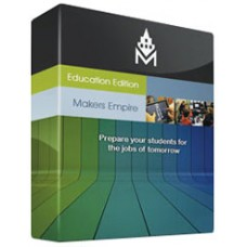 Makers Empire classroom software, School 12-month license (27479)