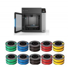 Afinia H+1 3D Printer with 1-year limited warranty  Plus 10 FREE ABS-Prem500 2-packs of filament. Promotion period - November 1, 2020 to Dec. 31, 2020 (P/N 33359P)
