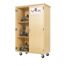 VEX ROBOTICS, MOBILE STORAGE CABINET,MAPLE