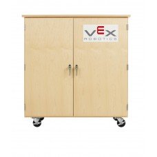 VEX ROBOTICS, PARTS CABINET,MAPLE