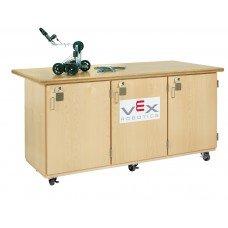 VEX ROBOTICS, ROBOT CABINET,MAPLE