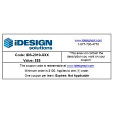 iDESIGN Coupon