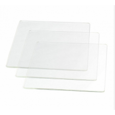 Borofloat Glass Platform, 140x140mm, H479-H480, 3-Pack (23671)