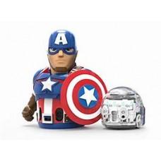 Ozobot Evo w/ Captain America Action Skin
