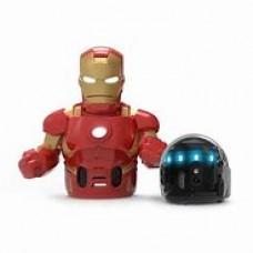 Ozobot Evo w/ Iron Man Action Skin