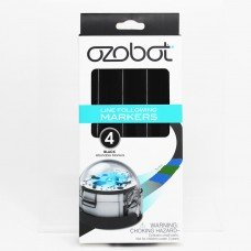 Ozobot Line Following Markers (4-pack - Washable) Black