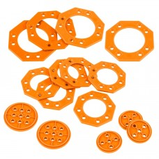 Turntable Base Pack (Orange) (228-3765)