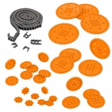 Chain & Sprocket Kit (Orange) (228-3950)