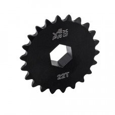 "#25 Sprocket w/ Hub - 18t - 1/2"" HEX ID (217-3488)"