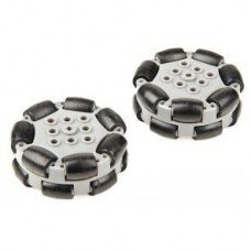 200mm Travel Omni-Directional Wheel (2-pack) (228-2536)