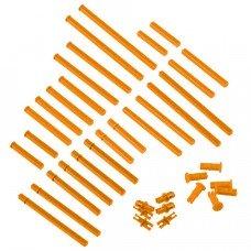 Plastic Shaft Base Pack (Orange) (228-3766)