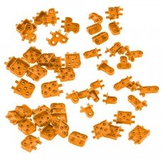 Corner Connector Foundation Add-on Pack (Orange) (228-3771)