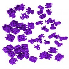 Corner Connector Foundation Add-on Pack (Purple) (228-3809)