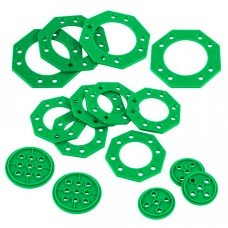 Turntable Base Pack (Green) (228-3839)
