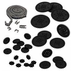 Chain & Sprocket Kit (Black) (228-3953)
