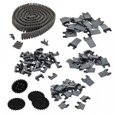 Tank Tread & Intake Kit (Black) (228-3954)