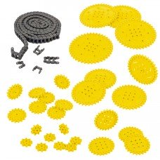 Chain & Sprocket Kit (Yellow) (228-3959)