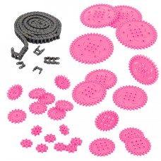 Chain & Sprocket Kit (Pink) (228-3965)