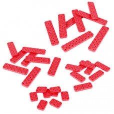 2x Beam Odd Length Pack (Red) (228-4681)