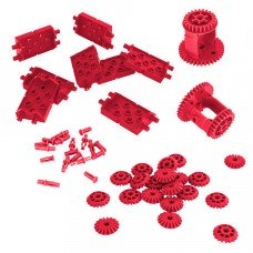 Differential & Bevel Gear Pack (Red) (228-4686)