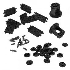 Differential & Bevel Gear Pack (Black) (228-4704)