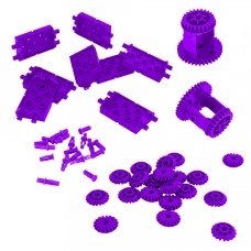 Differential & Bevel Gear Pack (Purple) (228-4713)