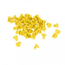 Thin Sheet Attachment Pin (50-pack, Yellow) (228-4721)