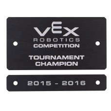 "Award Plate ""Tournament Champion"" (276-1281)"